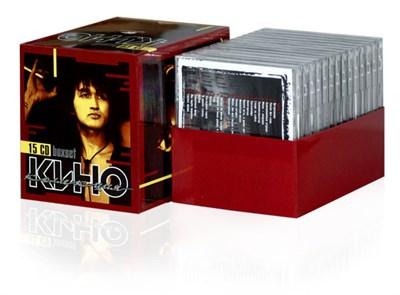 КИНО Коллекция 15 CD box - фото 4547