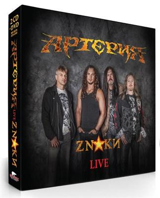"""Артерия """"ZNAКИ"""" live 2CD+DVD - фото 4834"""